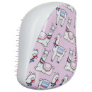 Tangle Teezer x Skinny Dip Compact Styler Detangling Hair Brush - Lovely Llama