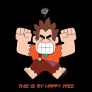 Wreck it Ralph This Is My Happy Face Women's T-Shirt - Black