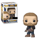 Figurine Pop Captain America Avec Bouclier - Marvel Infinity War EXC