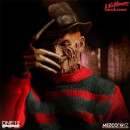 Mezco A Nightmare on Elm Street 1/12 Freddy Krueger Action Figure 17cm