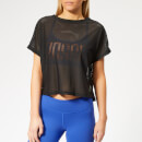 Reebok Women's CrossFit Jacquard Short Sleeve T-Shirt - Black