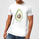 Barlena Avo-Cat-O Men's T-Shirt - White