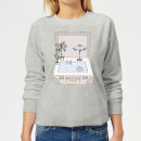 Barlena Pool To Go Women's Sweatshirt - Grey