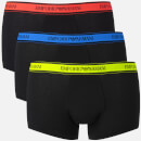 Emporio Armani Men's 3 Pack Boxer Shorts - Black