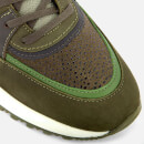 Android Homme Men's Belter 3.0 Stingray Suede Trainers - Dark Sage/Olive/Taupe