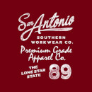 San Antonio Men's T-Shirt - Burgundy