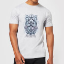 Aquaman Atlantis Seven Kingdoms Men's T-Shirt - Grey
