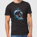 Aquaman Black Manta & Ocean Master Men's T-Shirt - Black