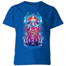Aquaman Mera Hourglass Kinder T-Shirt - Blau Royal
