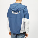 Wooyoungmi Men's Hooded Track Top - Blue