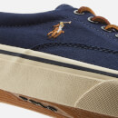 Polo Ralph Lauren Men's Thorton Ne Canvas Vulcanised Trainers - Newport Navy