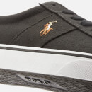 Polo Ralph Lauren Men's Sayer Ne Vulcanised Canvas Trainers - Black