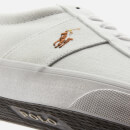 Polo Ralph Lauren Men's Sayer Ne Vulcanised Canvas Trainers - White