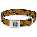 Buckle-Down Scooby-Doo! Dog Collar (Various Sizes) - L/18-32 Inches