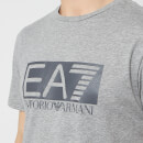 Emporio Armani EA7 Men's Train Visibility Short Sleeve T-Shirt - Medium Grey Melange