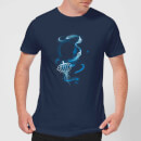 Fantastic Beasts Newt Silhouette Men's T-Shirt - Navy