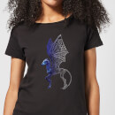 Fantastic Beasts Tribal Thestral Women's T-Shirt - Black