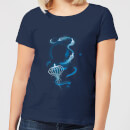 Fantastic Beasts Newt Silhouette Women's T-Shirt - Navy