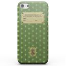 Harry Potter Slytherin Text Book Phone Case for iPhone and Android