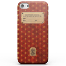 Harry Potter Gryffindor Text Book Phone Case for iPhone and Android