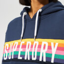 Superdry Women's Carly Carnival Hoody - Dazzling Blue