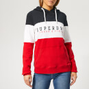 Superdry Women's Track & Field Lite Cb Hoody - Primary Red