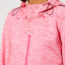Superdry Women's Prism Hooded SD-Windtrekker Jacket - Berry Slub/Ecru