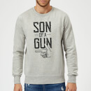 Son Of A Gun Sweatshirt - Grey