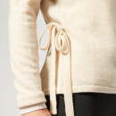 Pepper & Mayne Women's Exclusive Cashmere Ballet Wrap Cardigan - Creme Brulee