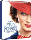 Mary Poppins Returns 4K Ultra HD (inc. 2D Blu-ray) - Zavvi UK Exclusive Limited Edition Steelbook