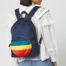 Anya Hindmarch Women's Nylon Wink Chubby Backpack - Night Sky/Rainbow