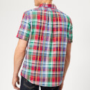 Polo Ralph Lauren Men's Check Short Sleeve Shirt - Red Multi