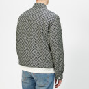 Maison Margiela Men's Nylon Sports Jacket - Dark Blue Print