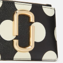 Marc Jacobs Women's Top Zip Multi Wallet - Black Multi
