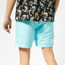 Superdry Men's Waterpolo Swim Shorts - Light Lagoon Blue