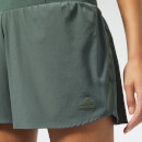 "adidas Women's Supernova Saturday 4"" Shorts - Legend Ivy"