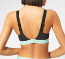 adidas Women's Stronger For It Iteration Sports Bra - Grey