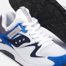 Saucony Men's Grid 9000 Trainers - White/Blue