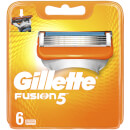 Fusion5 Razor Blades for Men - 6 Count