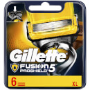 Fusion5 ProShield Razor Blades for Men - 6 Count