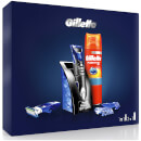 All Purpose Styler and Fusion5 Sensitive Shaving Gel Gift Set