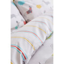 Catherine Lansfield Silly Sausage Dog Easy Care Duvet Set - Multi