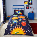 Catherine Lansfield Happy Space Easy Care Single Duvet Set - Navy