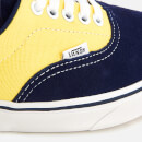 Vans ComfyCush Suede/Canvas Era Trainers - Dress Blues/Aspen Gold
