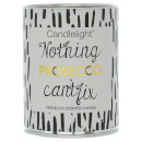 Candlelight 'Nothing Prosecco Can't Fix' Pull Tin Candle