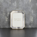 "Candlelight Grey with Gold Edges 5"" x 7"" Photo Frame"