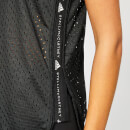 adidas by Stella McCartney Women's Train Mesh Tank Top - Black