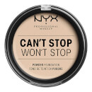 NYX Professional Makeup Can't Stop Won't Stop Powder Foundation (Various Shades)