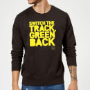 Sudadera Danger Mouse Switch The Track Green Back - Hombre - Negro