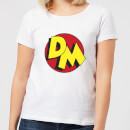 Danger Mouse DM Logo Women's T-Shirt - White